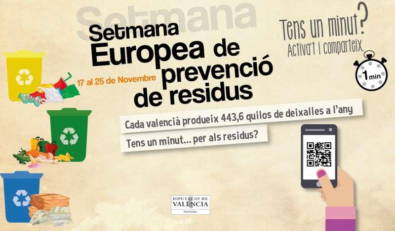 La Diputació de València treballa per la gestió intel·ligent dels residus