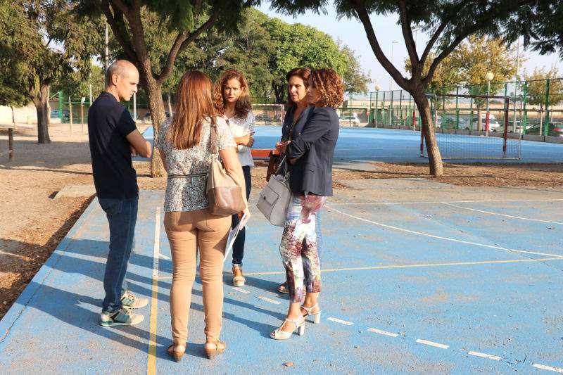 Autoridades de Quart de Poblet visitan el CEIP Villar Palasí. EPDA