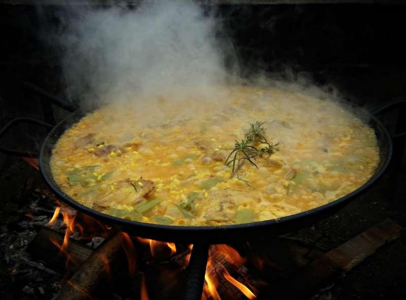 La paella, plato típico de Valencia. FOTO PIXABAY