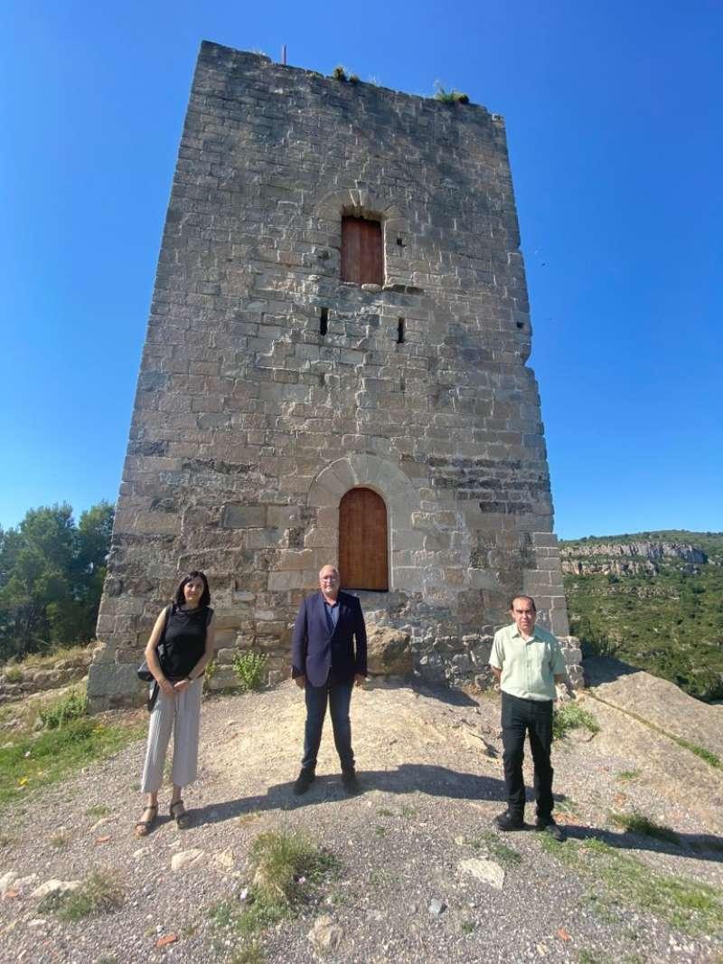 El alcalde Jorge Peiró acompañó a Such y Redondo en su visita