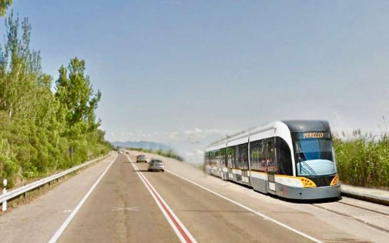 Idea de tranvía al Perelló