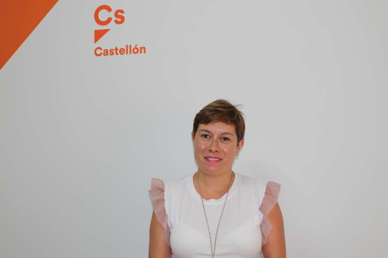 La portavoz de Ciudadanos (Cs) en la provincia de Castellón, Merche Ventura.