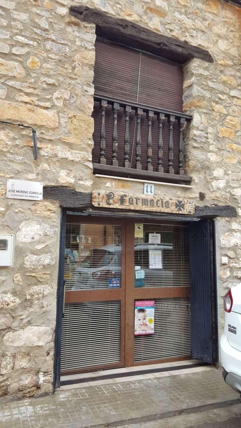 La farmacia objeto del robo