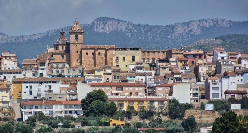 Villar del Arzobispo. Panorámica desde el Mirador