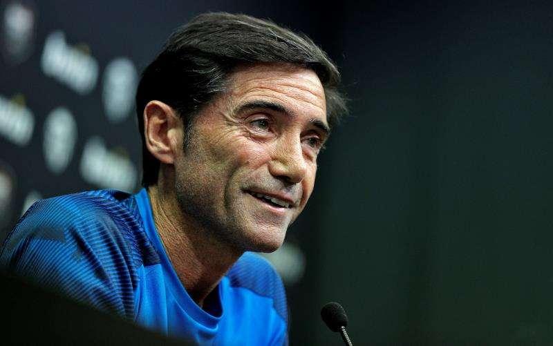 El hasta ahora entrenador del Valencia, Marcelino García Toral. EFE/Archivo