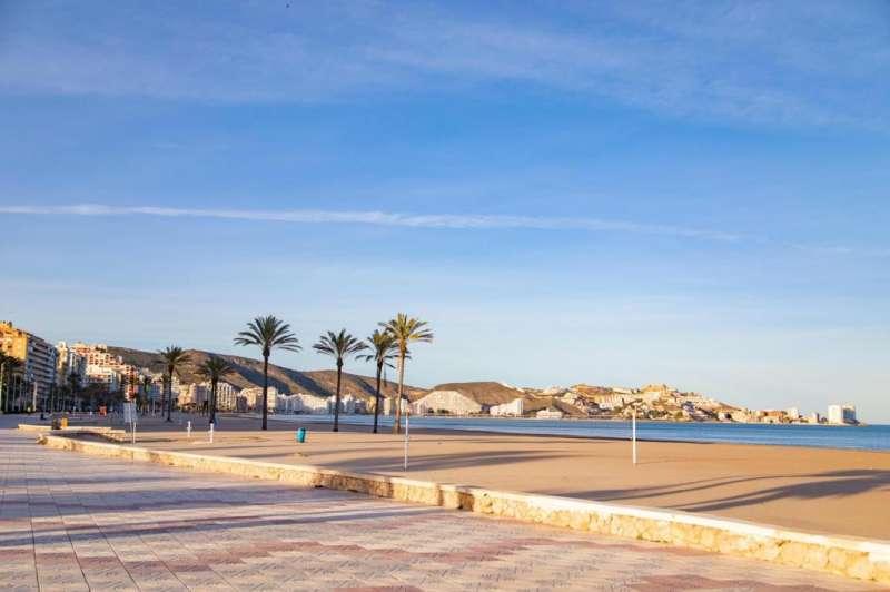 Playa Cullera./EPDA
