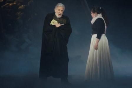 Plácido Domingo durante una actuación. FOTO: EPDA