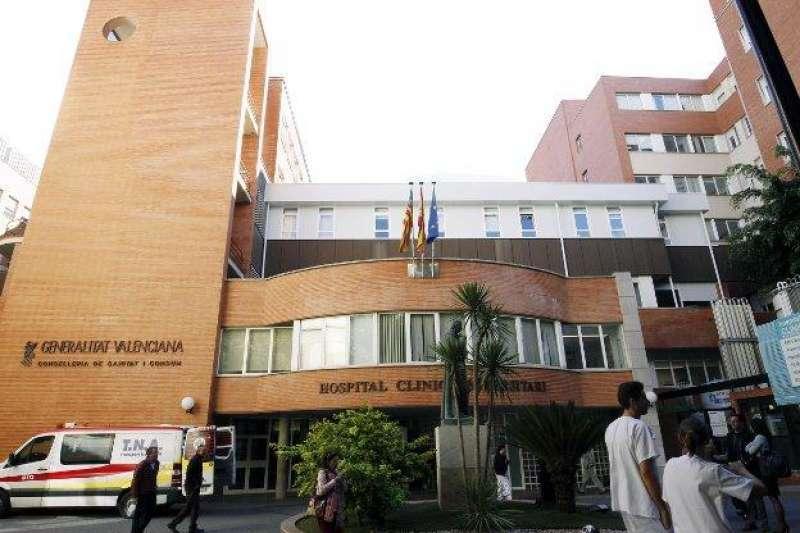 Hospital Clínico de València. Foto de archivo.