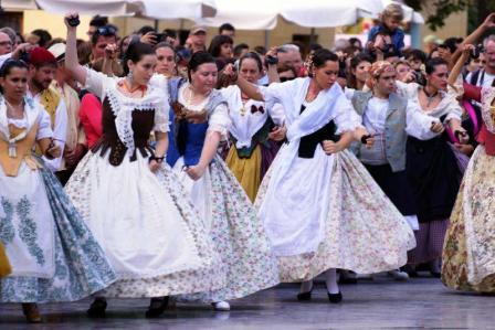 Folclóre de la Comunidad Valenciana. Foto EPDA