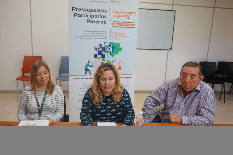 Concejalas y concejal de Paterna.