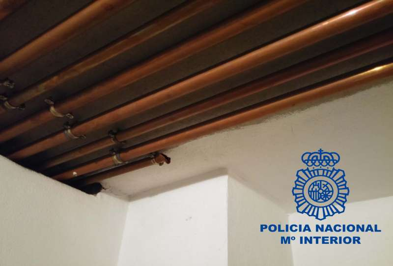 Imagen facilitada por la Policía Nacional. FOTO EPDA