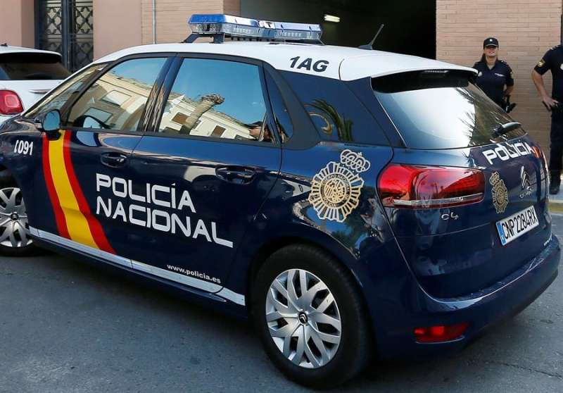 Vehículo policial. EPDA