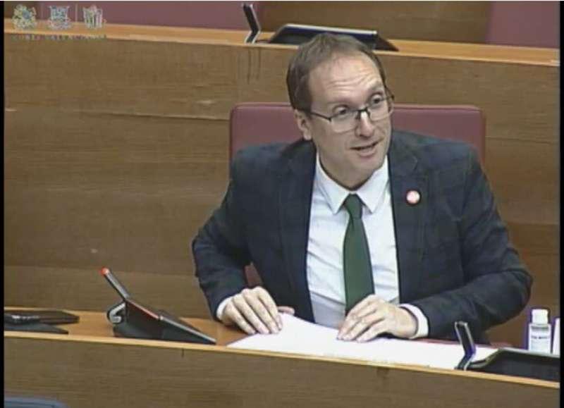 El secretari general del PSPV-PSOE de la província de Castelló i diputat autonòmic, Ernest Blanch. / EPDA