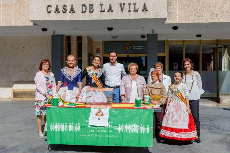 Participantes de la cuestación