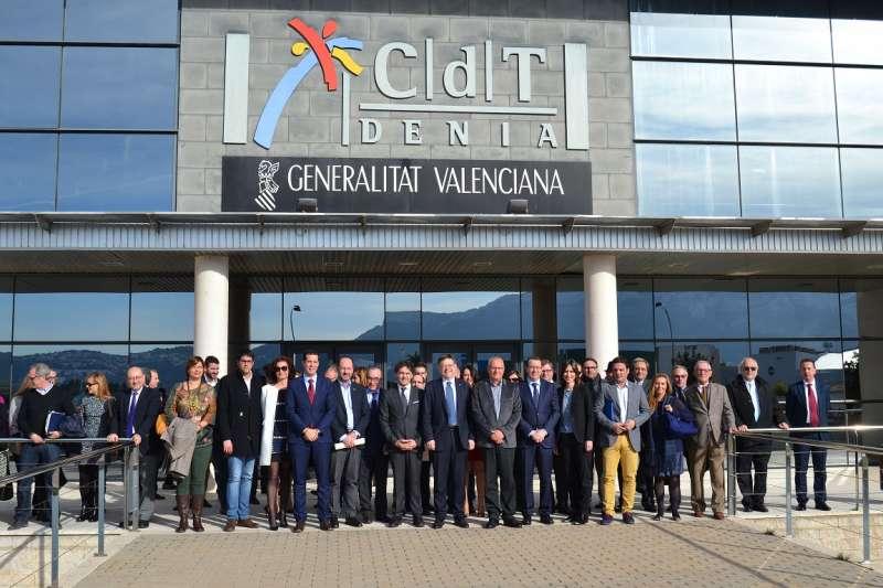 Foto de familia del Consejo de Turismo de la Comunitat Valenciana