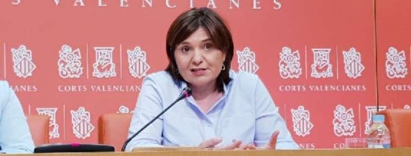 La portavoz del PP en las Corts,Isabel Bonig