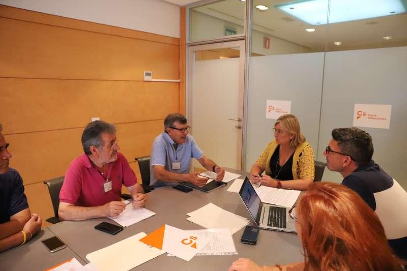 Reunión entre los miembros de Ciudadanos. EPDA