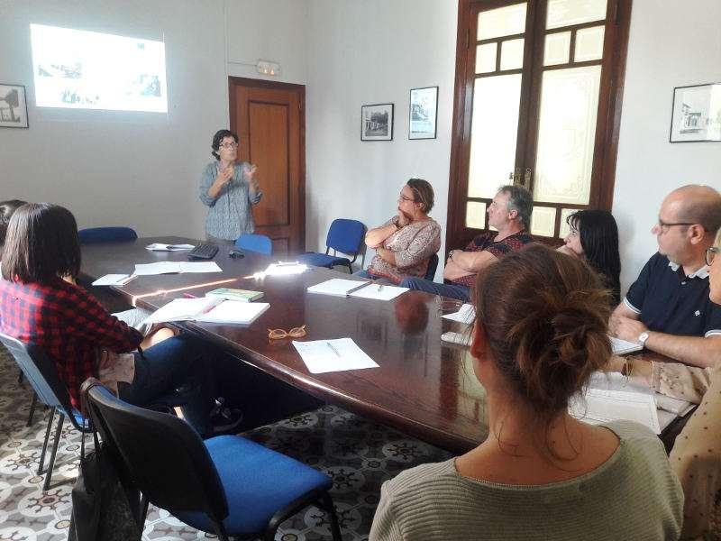 Reunión del Ayuntamiento de Benetússer con representantes del IVAJ. EPDA