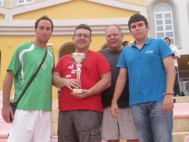 El equipo formado por Pau Rubio, Daniel Cavero, Juan Ribes y Roland Huylebroeck consiguió el primer puesto. FOTO: EPDA