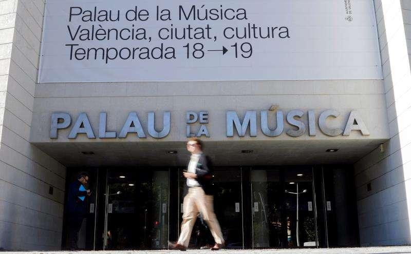Vista general del Palau de la Música. EFE/Archivo