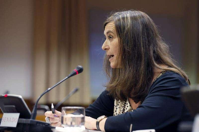 Susana Gisbert, durante una intervención. EFE/Archivo