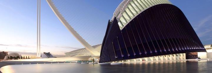 El Ágora de la Ciudad de las Artes y las Ciencias de Valencia. FOTO VALENCIAFASHIONWEEK.COM