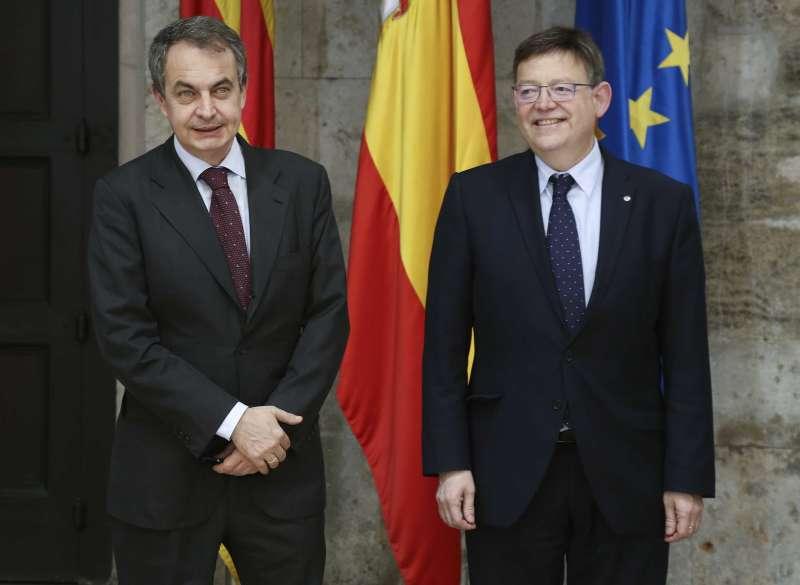 Zapatero y Puig en una foto de archivo. EPDA