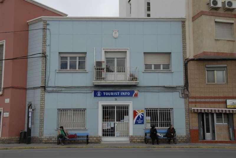 La oficina de Turismo de Port de Sagunt. EPDA