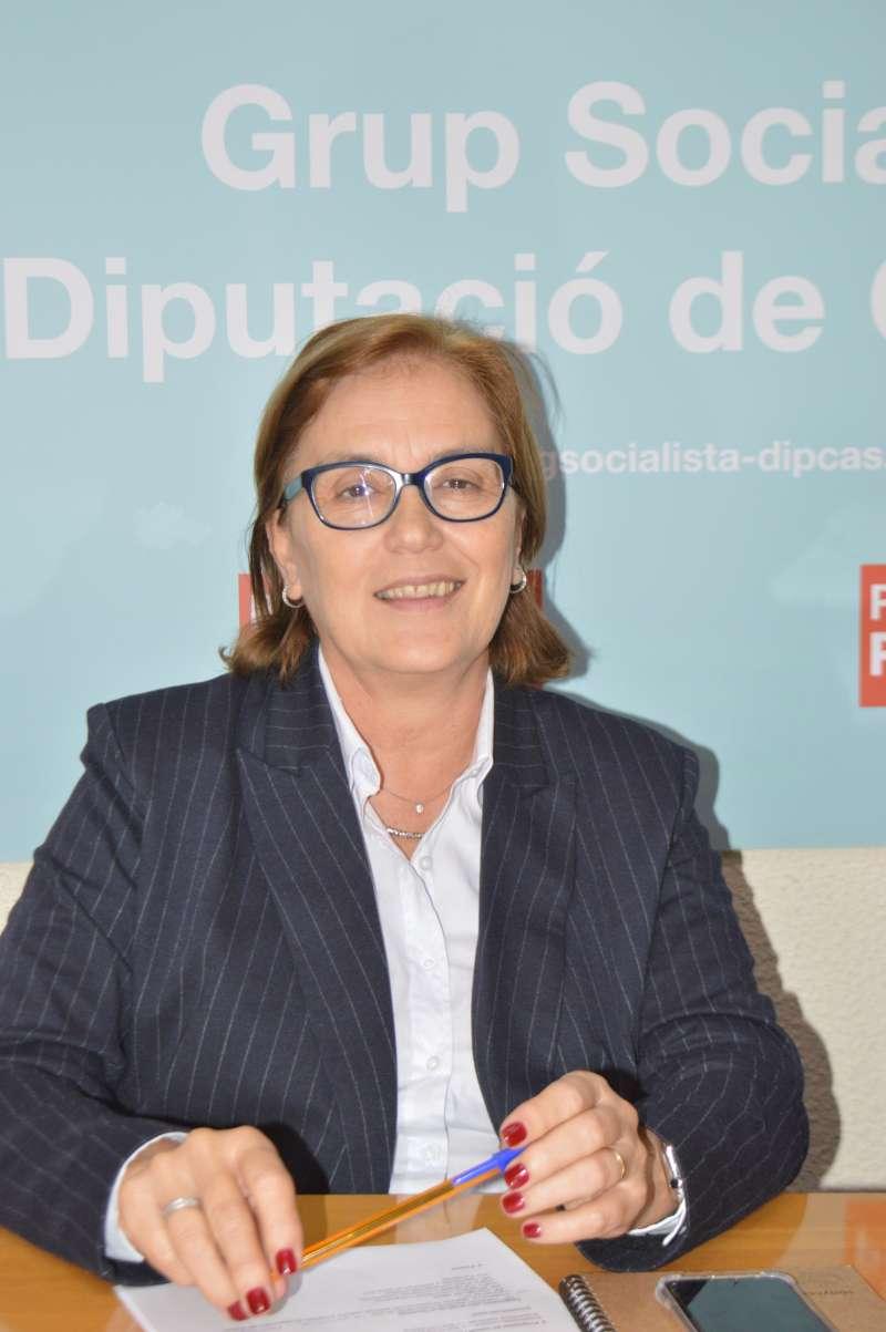 La diputada provincial del PSPV-PSOE y alcaldesa de Borriana, Maria Josep Safont