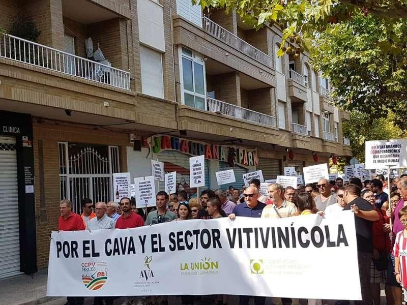 Manifestación por el sector. COAG