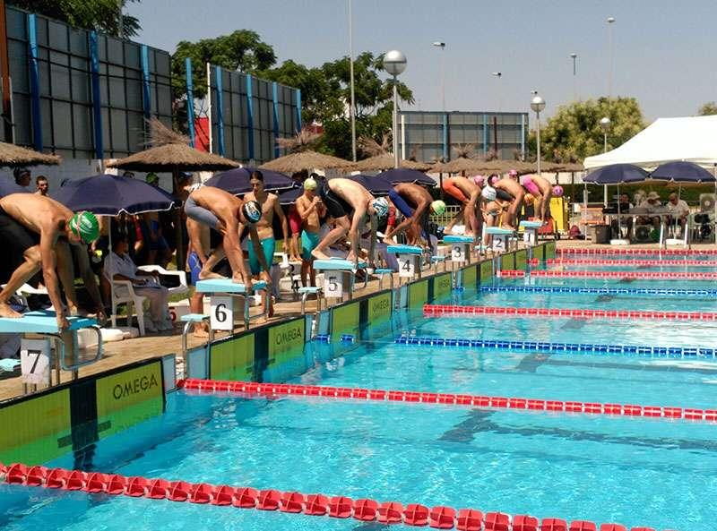 La piscina descoberta del poliesportiu municipal de sedav for Piscina sedavi