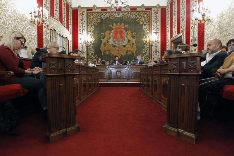 Pleno del Ayuntamiento de Alicante/EPDA