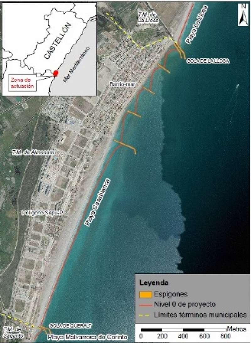Mapa del proyecto. EPDA