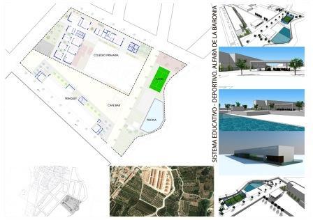 Plan de nuevas infraestructuras en Alfara de la Baronía. Foto EPDA
