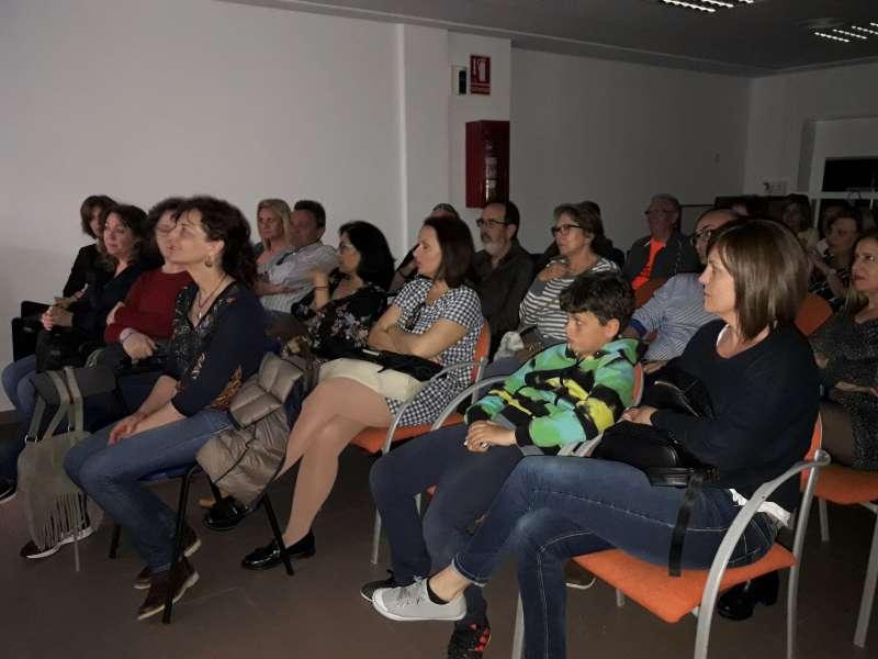 Asistentes a la presentación del programa Alternatura de Sagunt. EPDA