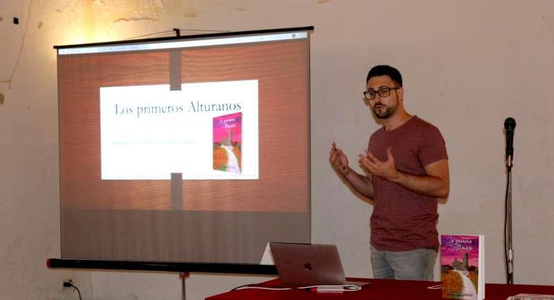 Elías Miguel Marqués en la presentación