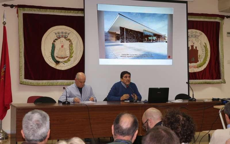 Corchado y Gómez en la presentación