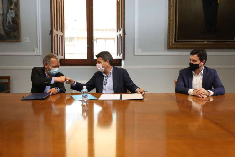 Firma del protocolo/EPDA