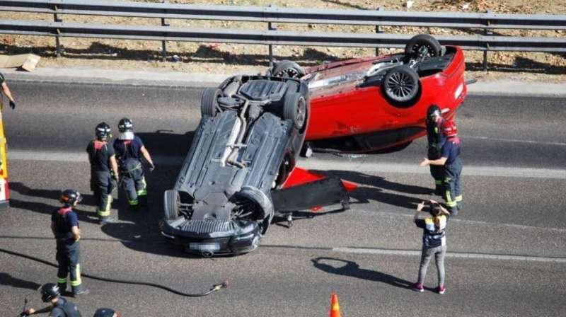 Imagen de archivo de una colisión. EPDA.