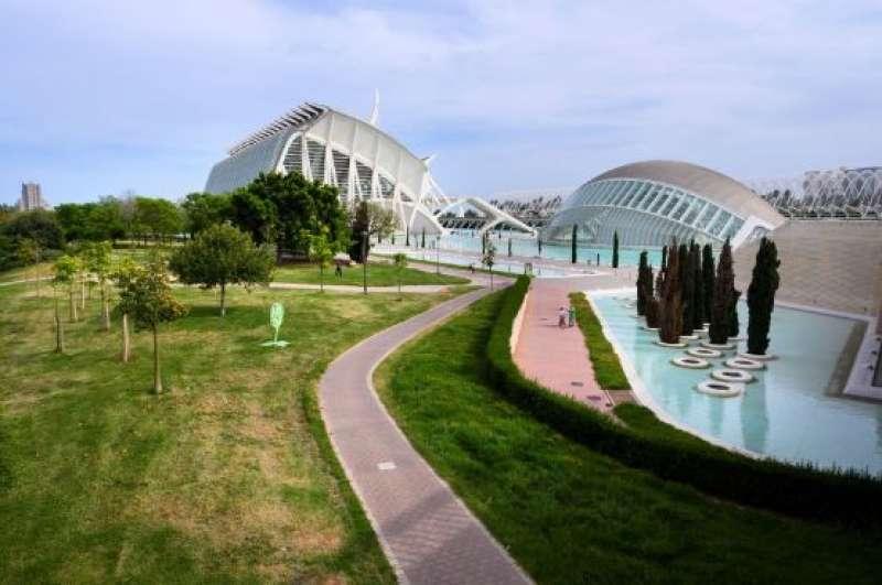 Ciutat de les Arts i les Ciències. EPDA