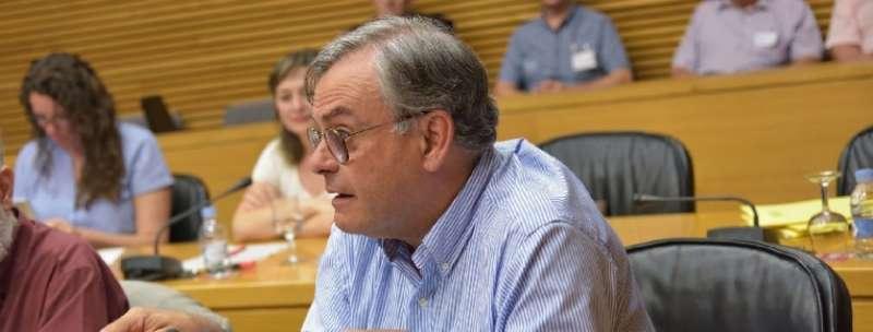 El Portavoz de Agricultura del Grupo Popular en Les Corts, José Ramón Calpe