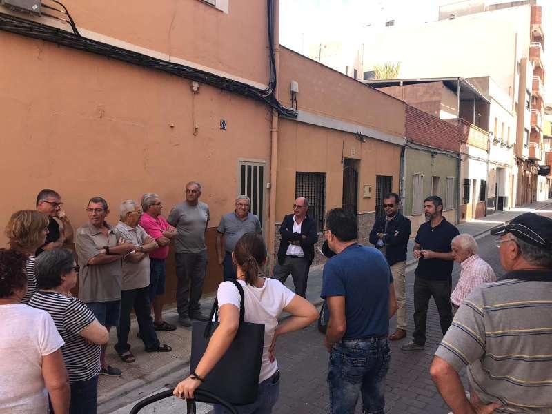 Reunión con los vecinos de Buenavista. EPDA