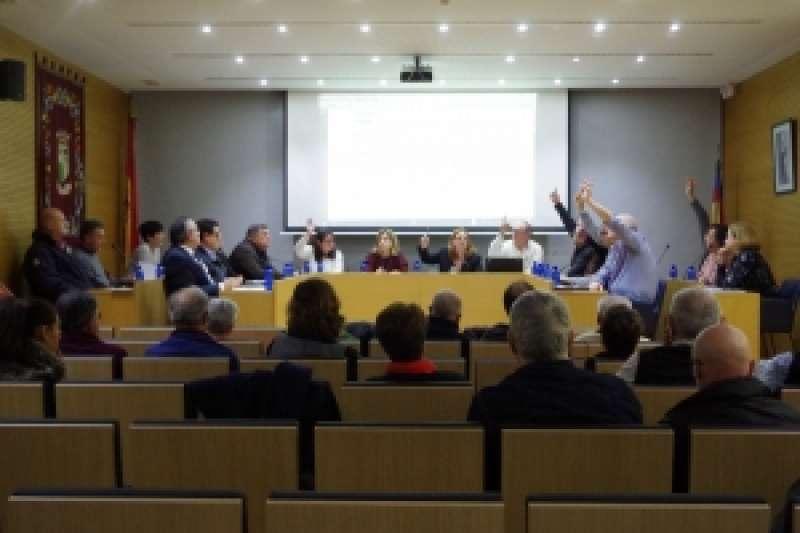 Pleno de diciembre en Godella. EPDA