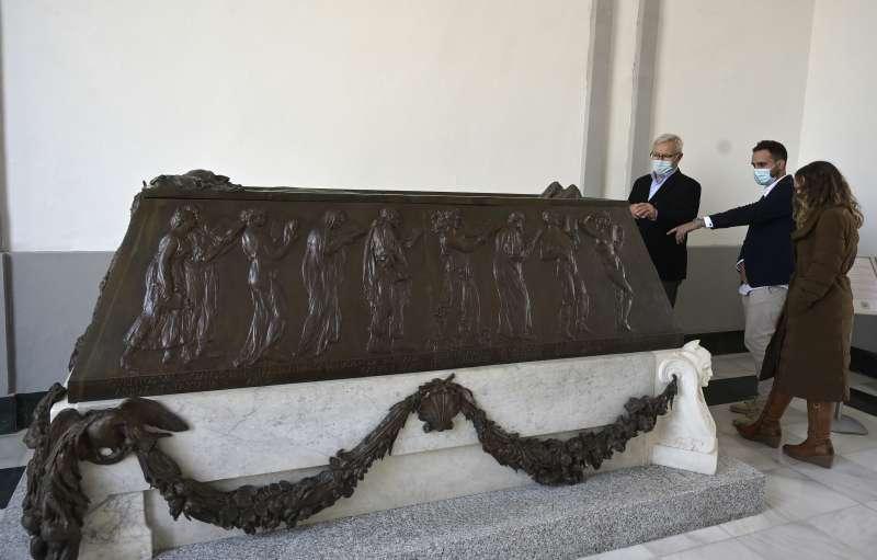 Sarcófago de Blasco Ibáñez. EPDA