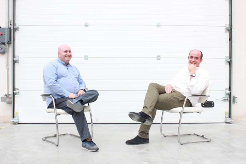 David Martínez y Santiago Fraile, Dirección General de Binoovo y Mtech Group.