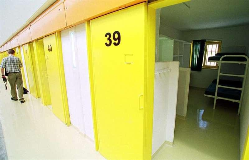 Imagen de archivo del interior de la prisión de Villena. EFE/MORELL/Archivo