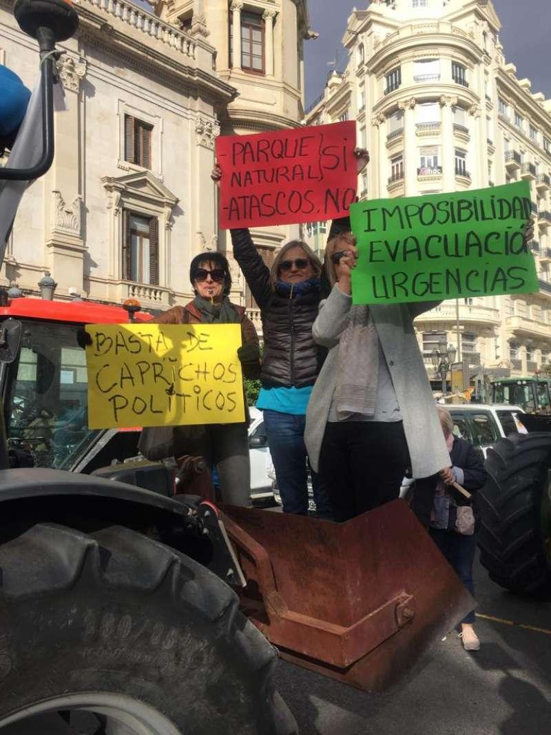 Imagen de la protesta de noviembre. EPDA