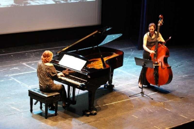 La pianista en concierto. EPDA