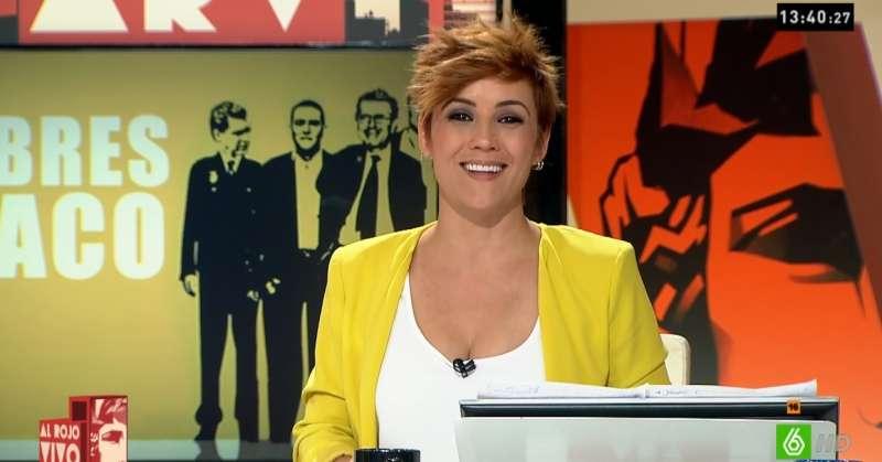 Cristina Pardo, periodista de La Sexta