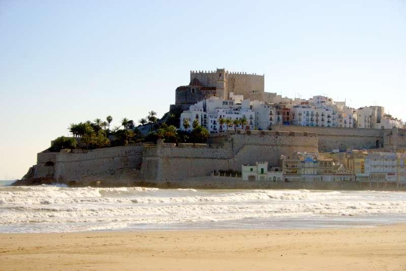 Imagen del castillo de Peñíscola.